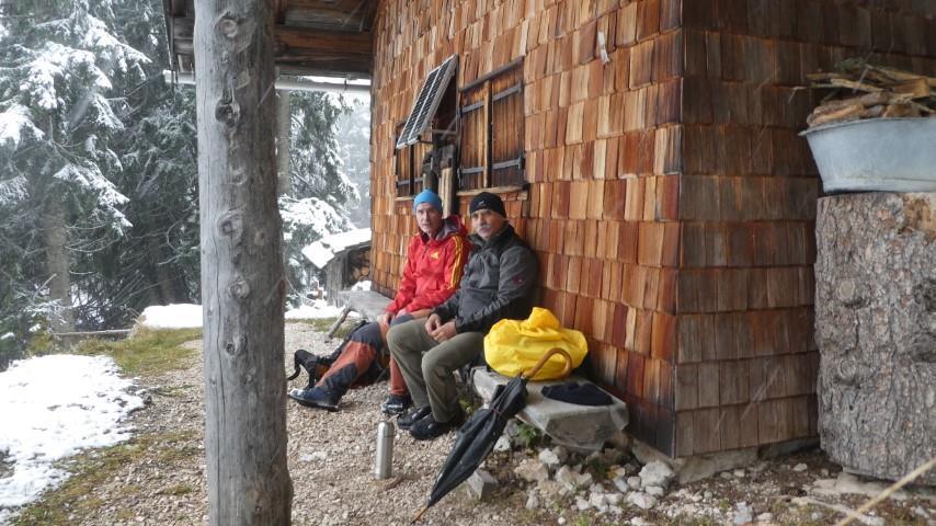 """""""Gipfelrast"""" Bergwachthütte"""